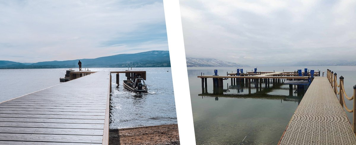 Consider Shoreline Pile Driving to make sure your dock and lift stay protected all winter long.