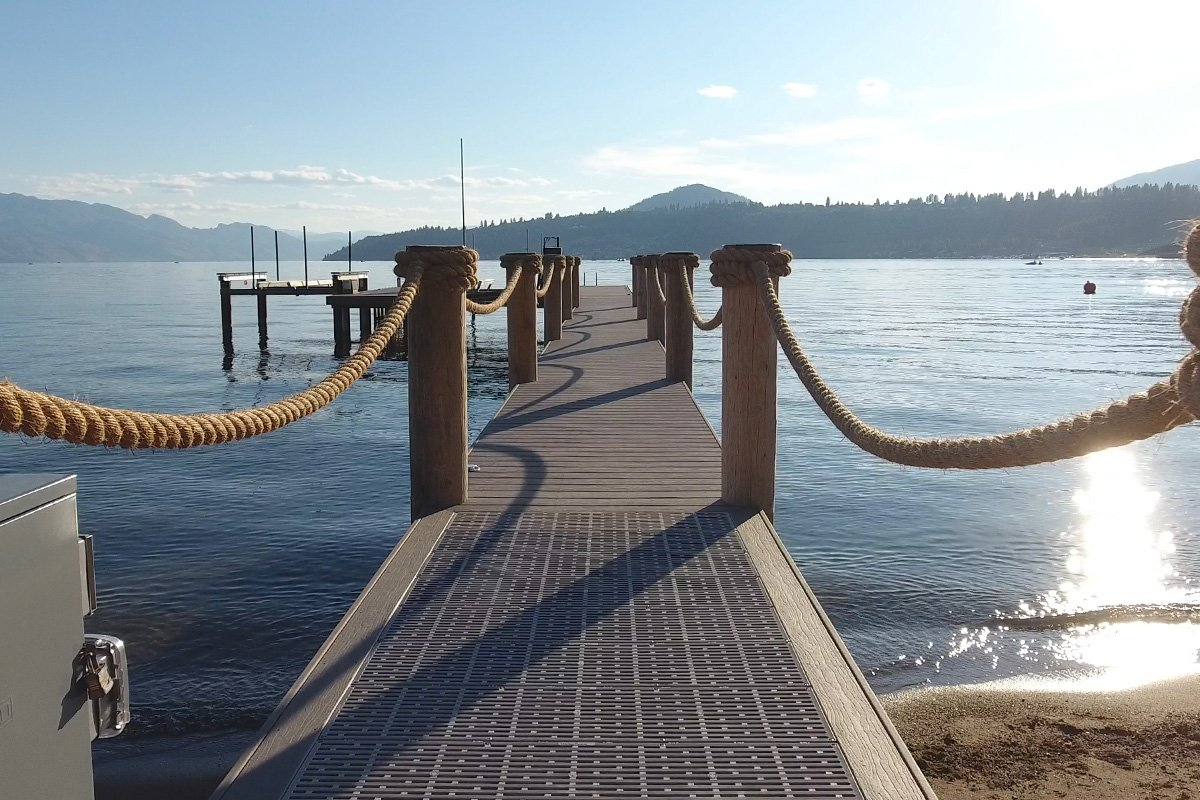 Wood vs. Aluminum Boat Docks: Which is Best for Okanagan Lake?