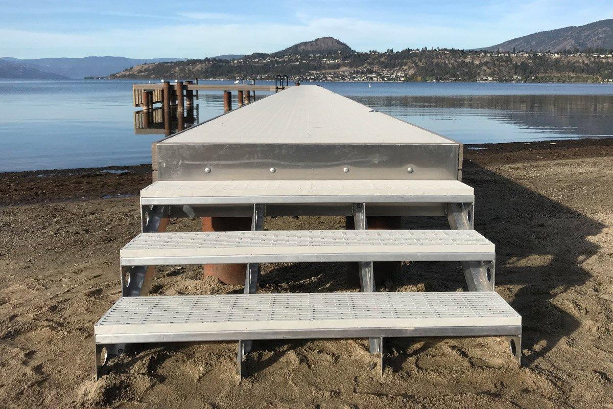 Dock Accessories to elevate lakefront living - Shoreline Pile Driving