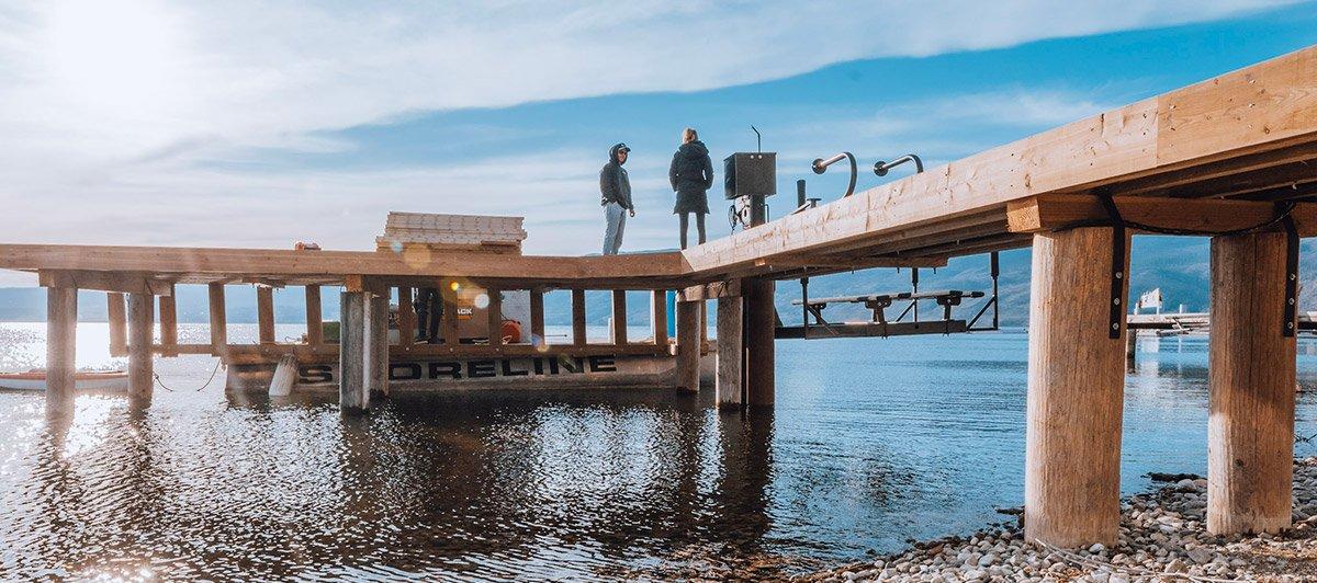 Residential dock design - Shoreline Pile Driving