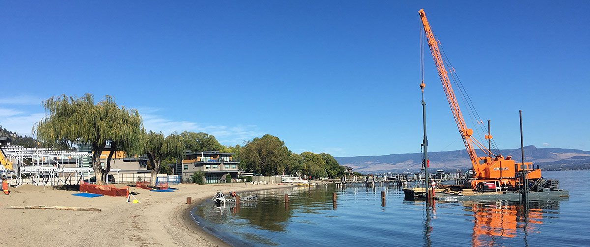 Permitting for Residential dock builds